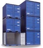 Stoccaggio in containers per custodia mobili in singoli box